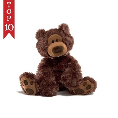 Picture of Philbin Chocolate Bear - 12 inches