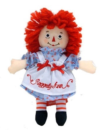 Picture of  Raggedy Ann - 8 inches