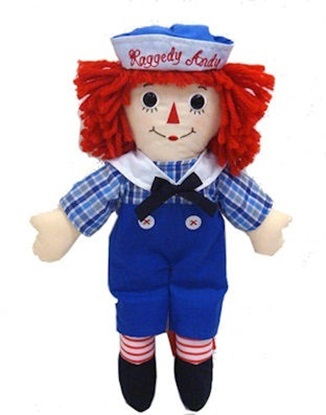 Picture of  Raggedy Andy - 8 inches
