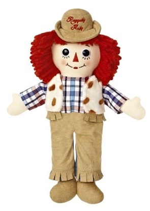 Picture of  Raggedy Andy Western - 12 inches