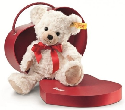 "Picture of ""Sweetheart"" Teddy Bear in Box"