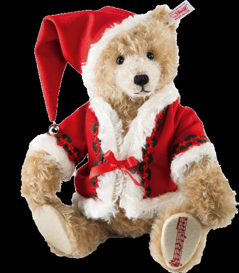 Christmas Bear.Musical Christmas Teddy Bear Cinnamon