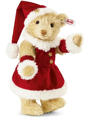 Picture of Mrs. Santa Claus Teddy  Bear