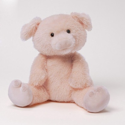 "Picture of ""This Little Piggy"" Animated Plush Pig"