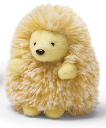 """Picture of """"Quilly"""" The Porcupine - Light Yellow"""