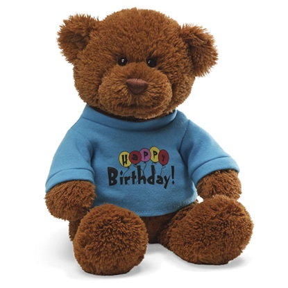 Picture of Happy Birthday T Shirt Bear