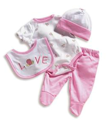 Picture of Wee Wonder Layette Set - 02270