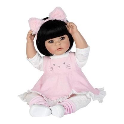 Picture of Kitty Kat - Black Hair, Brown Eyes - Cuddle Me vinyl