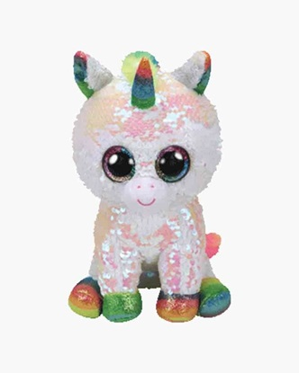 "Picture of ""Pixy"" the Unicorn - Flippables - Medium Sequin Plush - New in 2019"