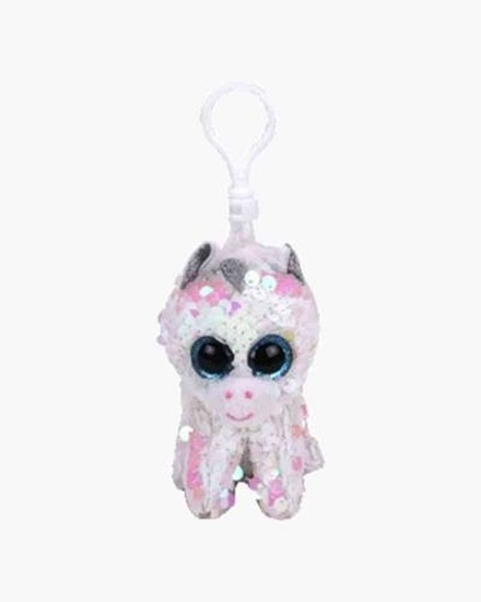 "Picture of ""Diamond"" the Unicorn - Flippables - Sequin Plush Key Rings - New in 2019"