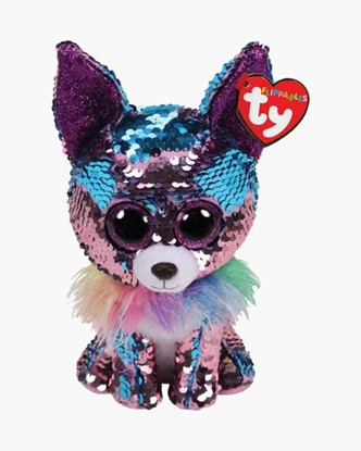 "Picture of ""Yappy"" the Chihuahua - Flippables - Large Sequin Plush - New in 2019"
