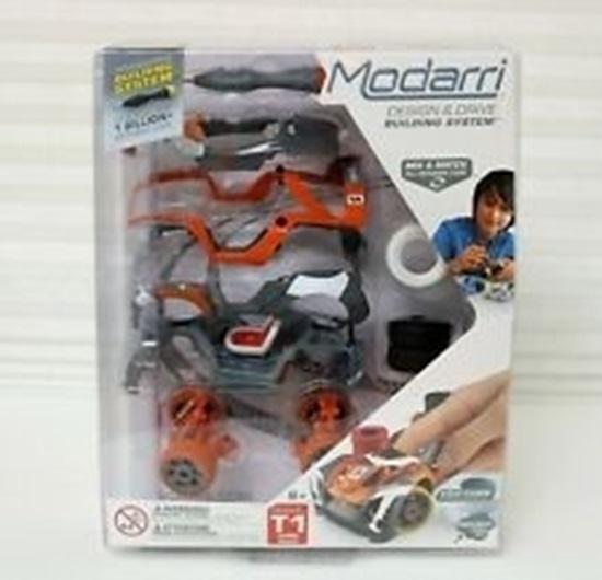 Picture of Modarri - Build it Yourself Toy Car - T1 Turbo Track Delxue Single - 1153-01
