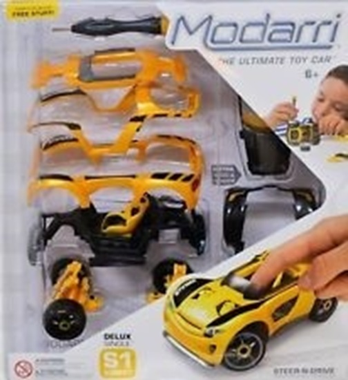 Picture of Modarri - Build it Yourself Toy Car - S1 Street Set by Modarri Build It Let Your Child Explore S1 Deluxe 1112-01
