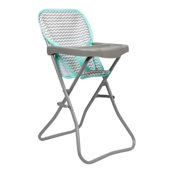 "Picture of Zig Zag High Chair -  Fits up to 16 "" Dolls - New in 2019"