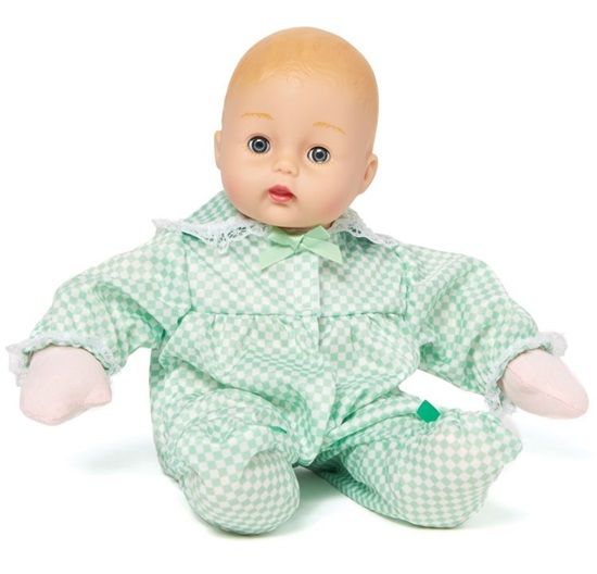 "Picture of ""Mint Check Huggums"" - 12 inch soft body - New in 2019"