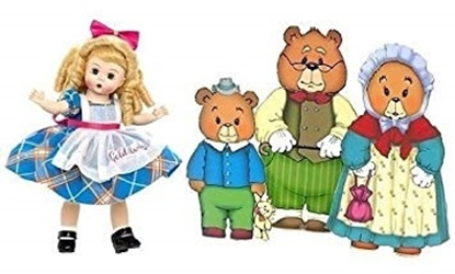 "Picture of ""Goldilocks and the Three Bears"" - 8 inch"